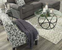 New Arrival - Ashley Coulee Medium Rug in Natural