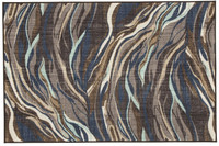Ashley Jochebed Medium Rug in Blue and Brown