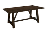 New Arrival - Furniture of America Saige Rectangular Dining Table in Oak