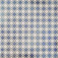 """Active Home Centre Campania Cuadros Azul 13"""" Porcelain Tile"""