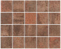 "Active Home Centre Oxy Corten Mesh MA 12""x 15"" Ceramic Tile"