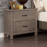 New Arrival - Furniture of America Brenna Nightstand in Gray