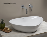 New Arrival - American Standard Elemento Drop-in Basin in White