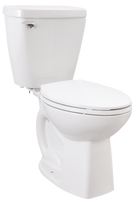 American Standard Flow One 2-Piece Elongated Front Toilet in White