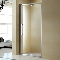 "Active Home Centre 39"" Pivoting Tempered Glass Shower Door (07KO-KP13B)"
