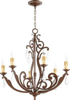 New Arrival - Active Home Centre Montgomery 6 Light Chandelier in Vintage Copper
