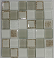 "Active Home Centre 17AB15B 12""x 12"" Glass Mosaic"