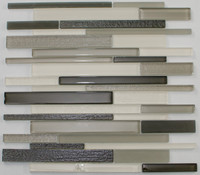 "Active Home Centre 17AS47 12""x 12"" Linear Glass Mosaic"