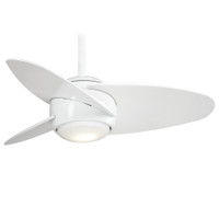 "Minka-Aire Slant 36"" LED 3 Blade Indoor Ceiling Fan in White"