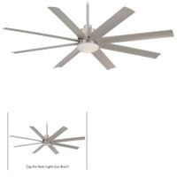 "New Arrival - Minka-Aire Slipstream 65"" 8 Blade Indoor Ceiling Fan in Brushed Nickel Wet"