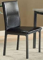 Coaster Garza Side Chair in Black