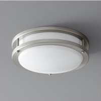 New Arrival - Active Home Centre 1 Light Flush Mount Ceiling Light in Brushed Nickel