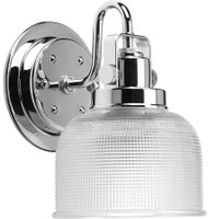Active Home Centre Vanity 1 Light Wall Sconce in Chrome