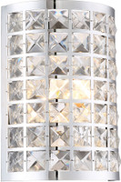 Active Home Centre SW9960-1 1 Light Wall Sconce in Chrome