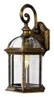 Active Home Centre 1 Light Outdoor Wall Sconce in Antique Gold