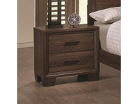 Coaster Brandon Nightstand in Warm Brown