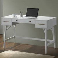 "New Arrival - Coaster 47"" Writing Desk in White"