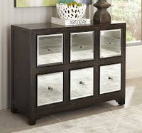 "New Arrival - Coaster 42"" Accent Cabinet in Rustic Brown"