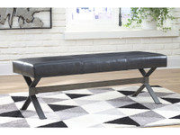 New Arrival - Ashley Lariland Accent Bench in Black