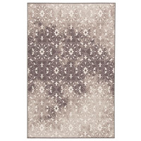 """New Arrival - Ashley Jerilyn 4'4"""" x 6'9"""" Medium Rug in Grey and White"""