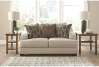 Ashley Marciana Loveseat in Bisque