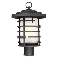 New Arrival - Active Home Centre Large 1 Light Outdoor Post Mount in Oil Rubbed Bronze