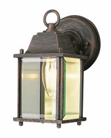 Active Home Centre 1 Light Outdoor Wall Sconce in Rust