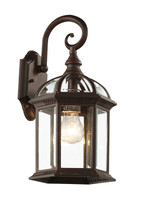 Active Home Centre Outdoor Wall Sconce Fixture in Black
