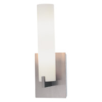 Active Home Centre 1-Light Wall Sconce in Brushed Nickel