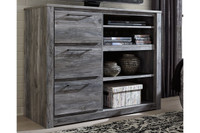 New Arrival - Ashley Baystorm Media Chest in Gray