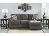 New Arrival - Ashley Brise Sofa Chaise in Slate
