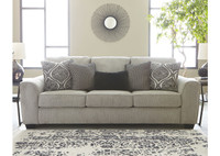 Ashley Pariston Sofa in Alloy
