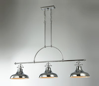 New Arrival - Active Home Centre 3 Light Pendant in Chrome