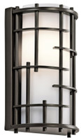 New Arrival - Active Home Centre 1-Light Wall Sconce Fixture in Oil Rubbed Bronze