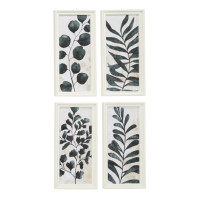 Active Home Centre 36579 Wall Art Leaf Set