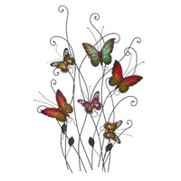 New Arrival - Active Home Centre 13611 Butterfly Metal Wall Decor