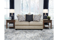 New Arrival - Ashley Reardon Loveseat in Stone