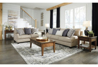 New Arrival - Ashley Reardon Sofa in Stone