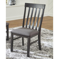 New Arrival - Ashley Luvoni Dining Chair in Charcoal