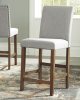 New Arrival - Ashley Glennox Upholstered Bar Stool