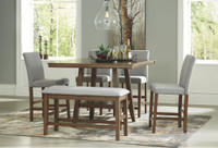 Ashley Glennox Counter Height Dining Room Table