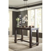 New Arrival - Ashley Drewing Rectangular Bar Table in Brown