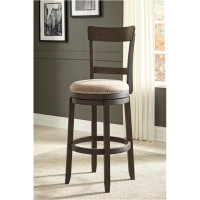 New Arrival - Ashley Drewing Upholstered Swivel Bar Stool in Brown