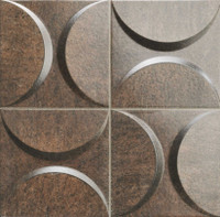 "Active Home Centre Eclipse Copper 13"" Porcelain Wall Tile"