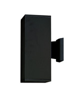 Active Home Centre 2 Light Outdoor Wall Sconce in Black Aluminium (31IL-6559BK)
