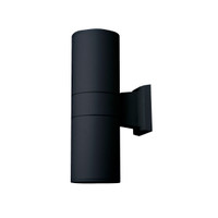 Active Home Centre 75W 2 Light Wall Sconce Fixture in Black (30IL-4234BK)