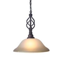 Active Home Centre 1 Light Hanging Pendant Fixture in Metal (30IL-8695CF-1P)