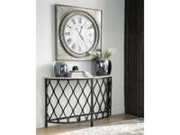 Ashley Trinson Sofa Table in Black
