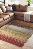 "New Arrival - Ashley Alpenrose 5'3"" x 7'3"" Medium Rug in Multi"