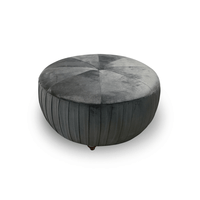 Active Home Centre Velvet Ottoman (25UM-53723)